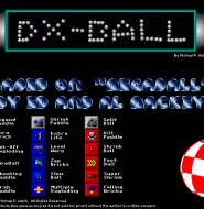 经典小游戏:Dxball撞球游戏